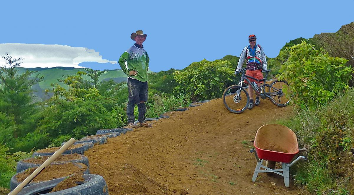 Arapuke Forest Park Mountain Bike Trail in Palmerston North. New Zealand    SINGLETRACKS.COM