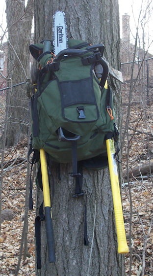 Dakine Builders Pack Review Easily Holds Your Chainsaw  Singletracks Mountain Bike News