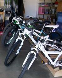 DIY Bike Storage Rack
