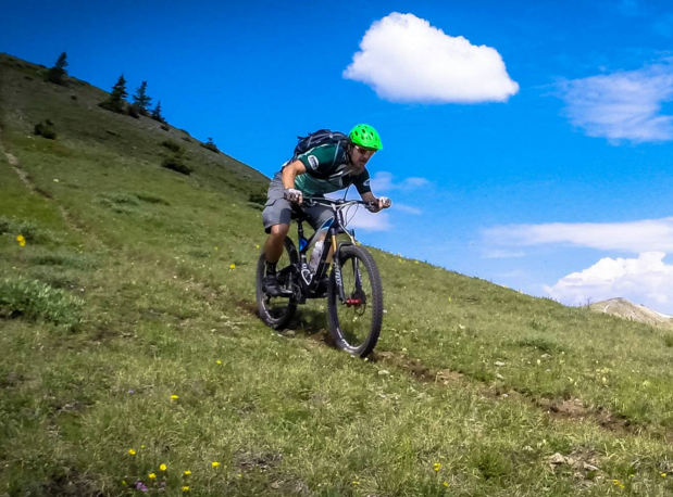 Mountain biking should be a anjoyment of the great outdoors, not a battle of wills against mother nature. Photo by: Greg Heil