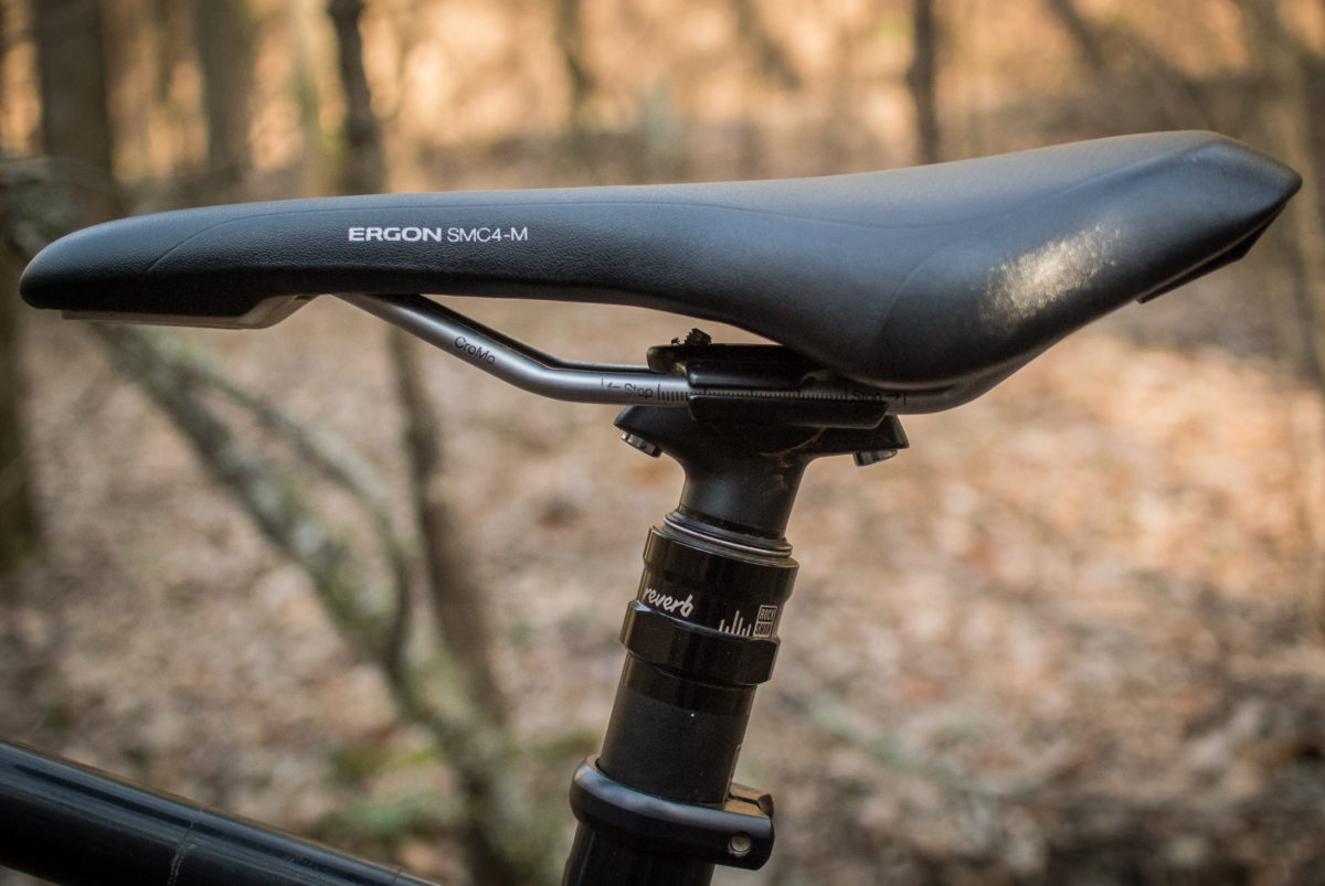 microfiber office chair round accent chairs ergon smc4 saddle review - singletracks mountain bike news