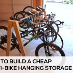 How To Easily Build A Cheap Multi Bike Hanging Storage Rack