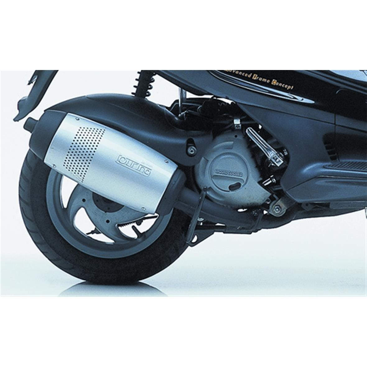 racing exhaust leovince touring