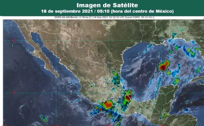 Clima Cancún Quintana Roo 18 de septiembre de 2021 (Conagua)