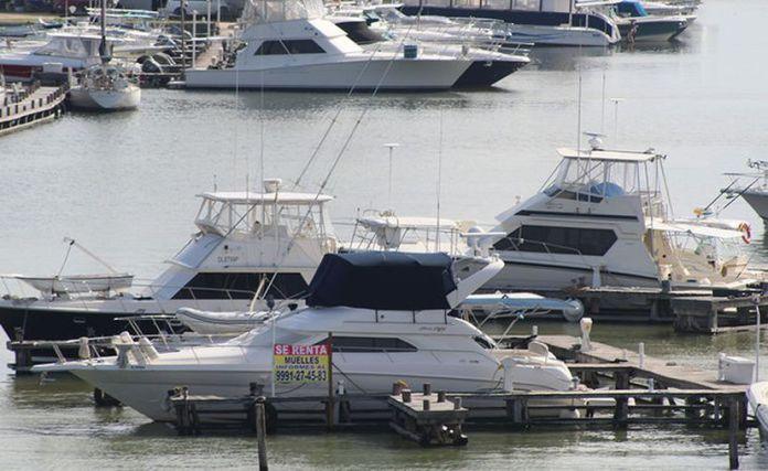Exhorta a los propietarios a no sacar las embarcaciones para evitar posibles contagios, ya que generalmente las usan para pasear en grupo. (Gerardo Keb/Novedades Yucatán)