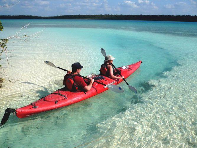 Resultado de imagen para kayak en lagunas de bacalar