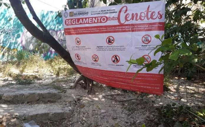 Cenotes en Solidaridad. (Octavio Martínez/SIPSE)