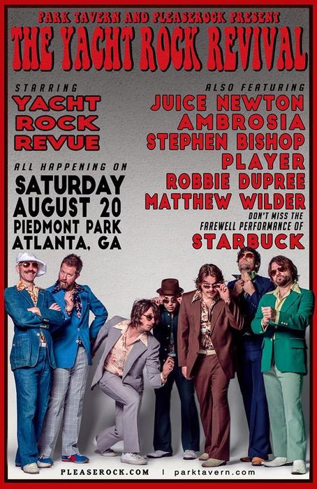 The Yacht Rock Revival 2016 Atlanta Line Up Photos