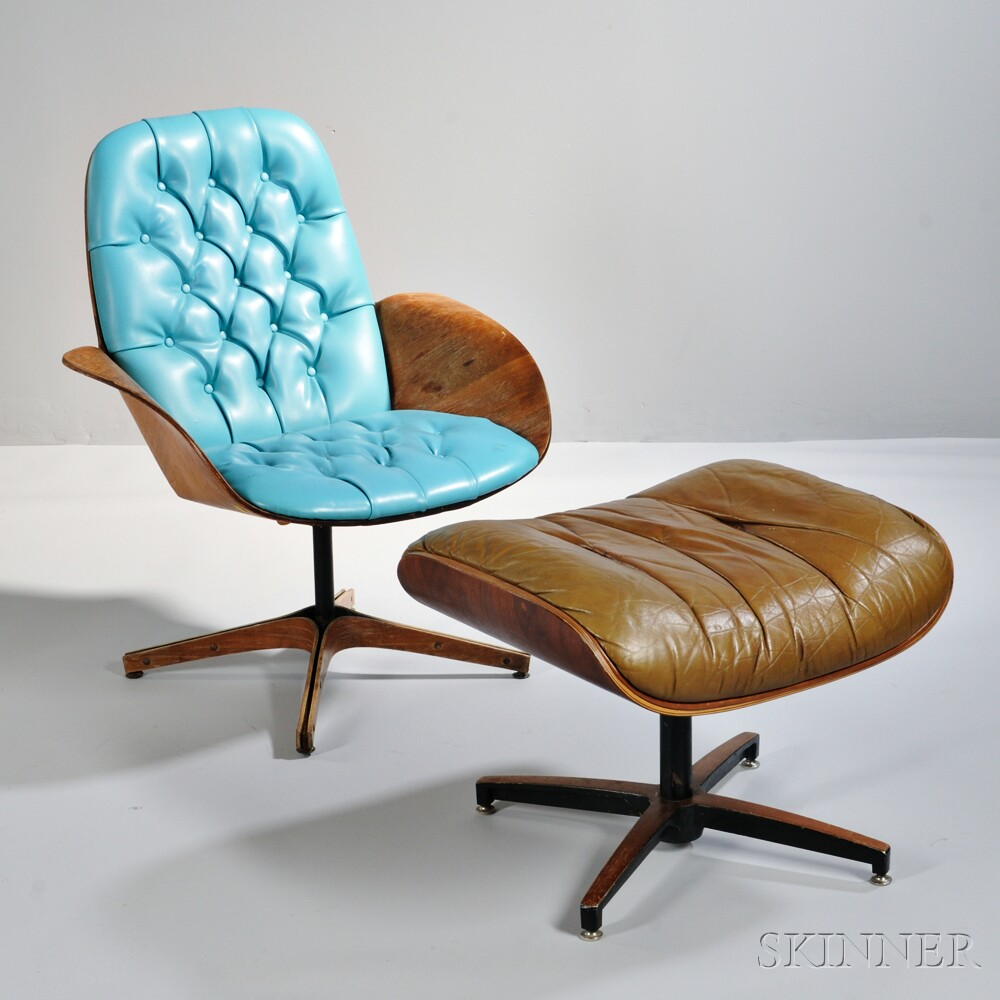 George Mulhauser for Plycraft Lounge Chair  Sale Number