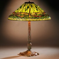 Tiffany Studios Dragonfly Table Lamp | Sale Number 2737B ...