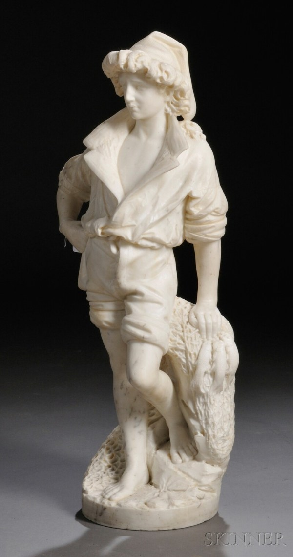 Attributed Antonio Frilli Italian 1860-1920 Marble