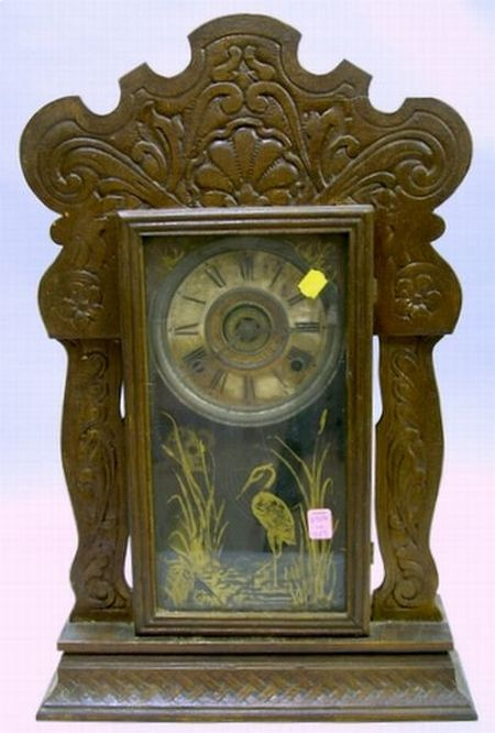 Realized price for Sessions Oak Cased Gingerbread Clock
