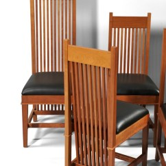 Frank Lloyd Wright Chairs Clearwater Beach Chair Rentals Eight Robie House Dining By Copeland
