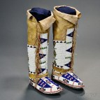 Native American Leggings Moccasins Women