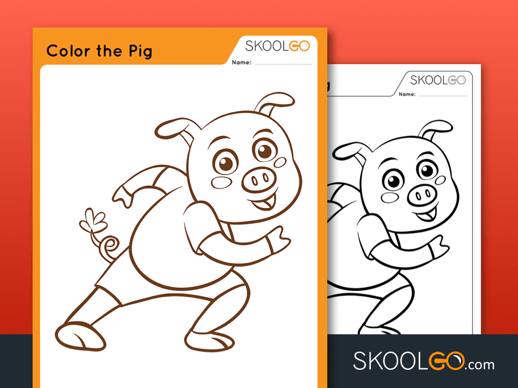 Color The Pig