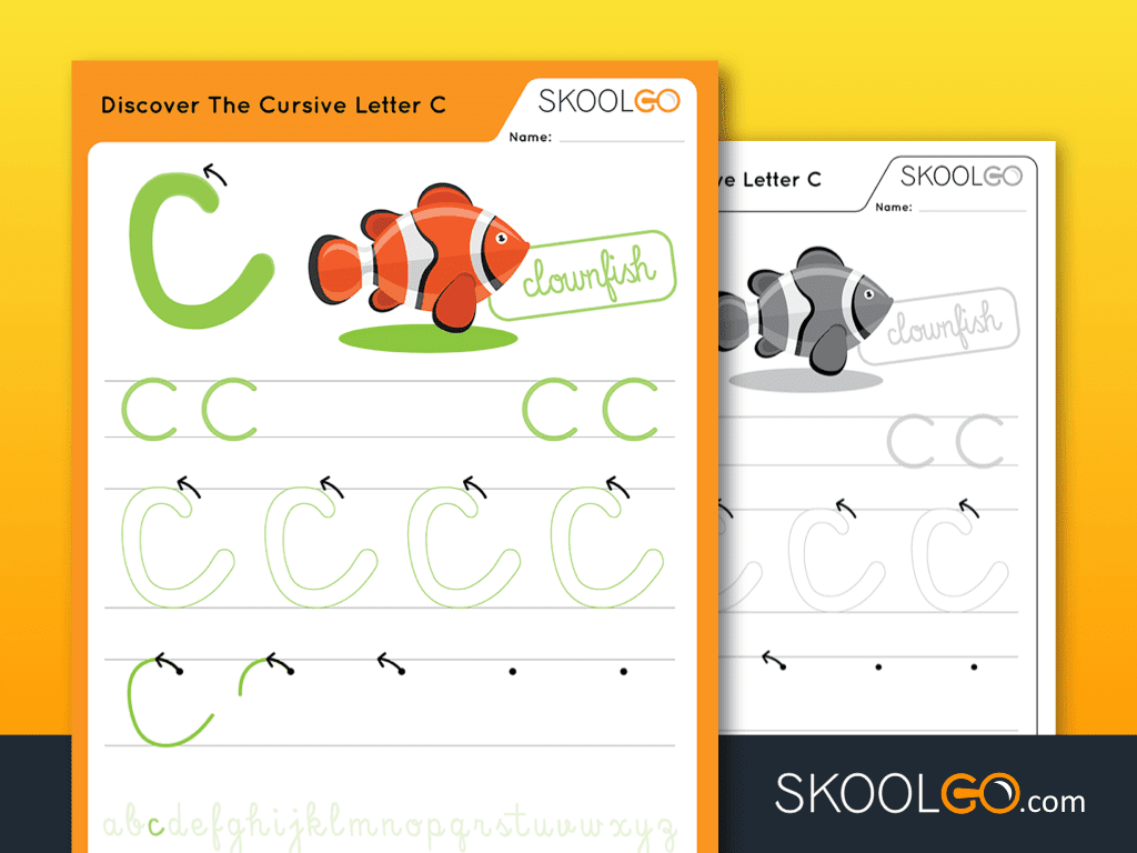 Discover The Cursive Letter C