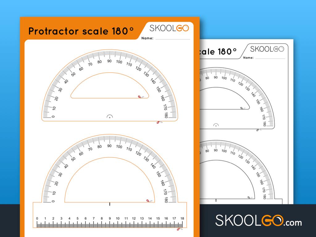 Protractor Scale 180