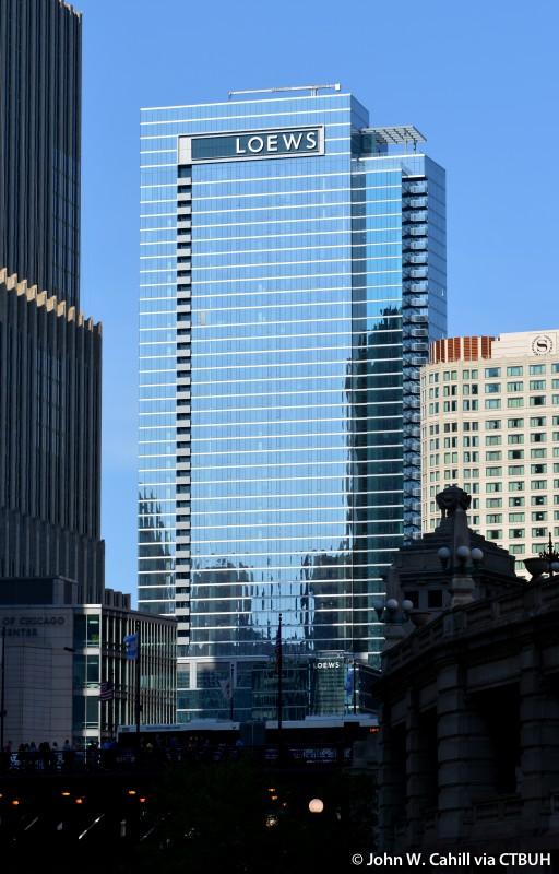 Loews Chicago Hotel  The Skyscraper Center