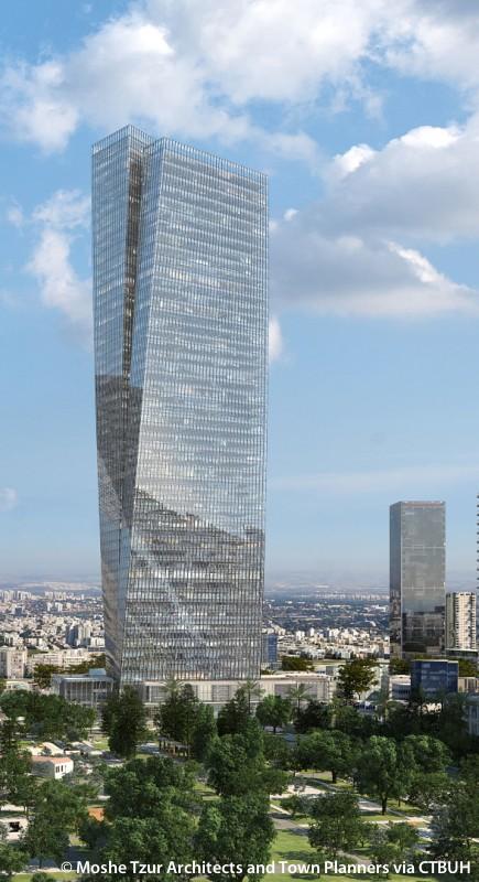 Azrieli Sarona Tower  The Skyscraper Center