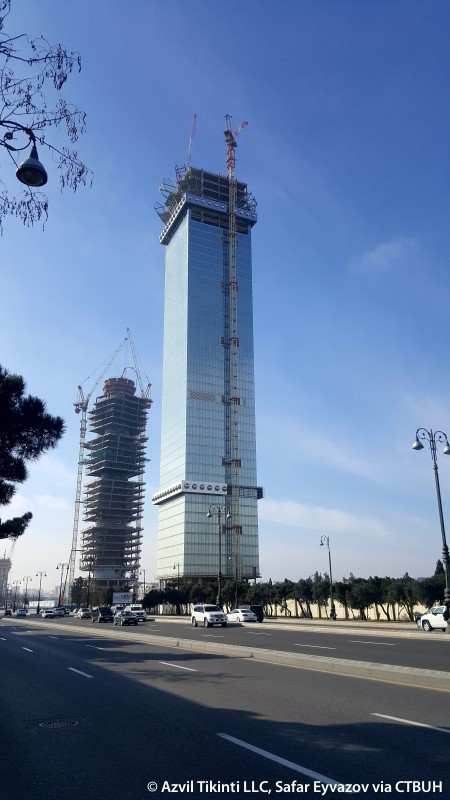 Baku Tower The Skyscraper Center