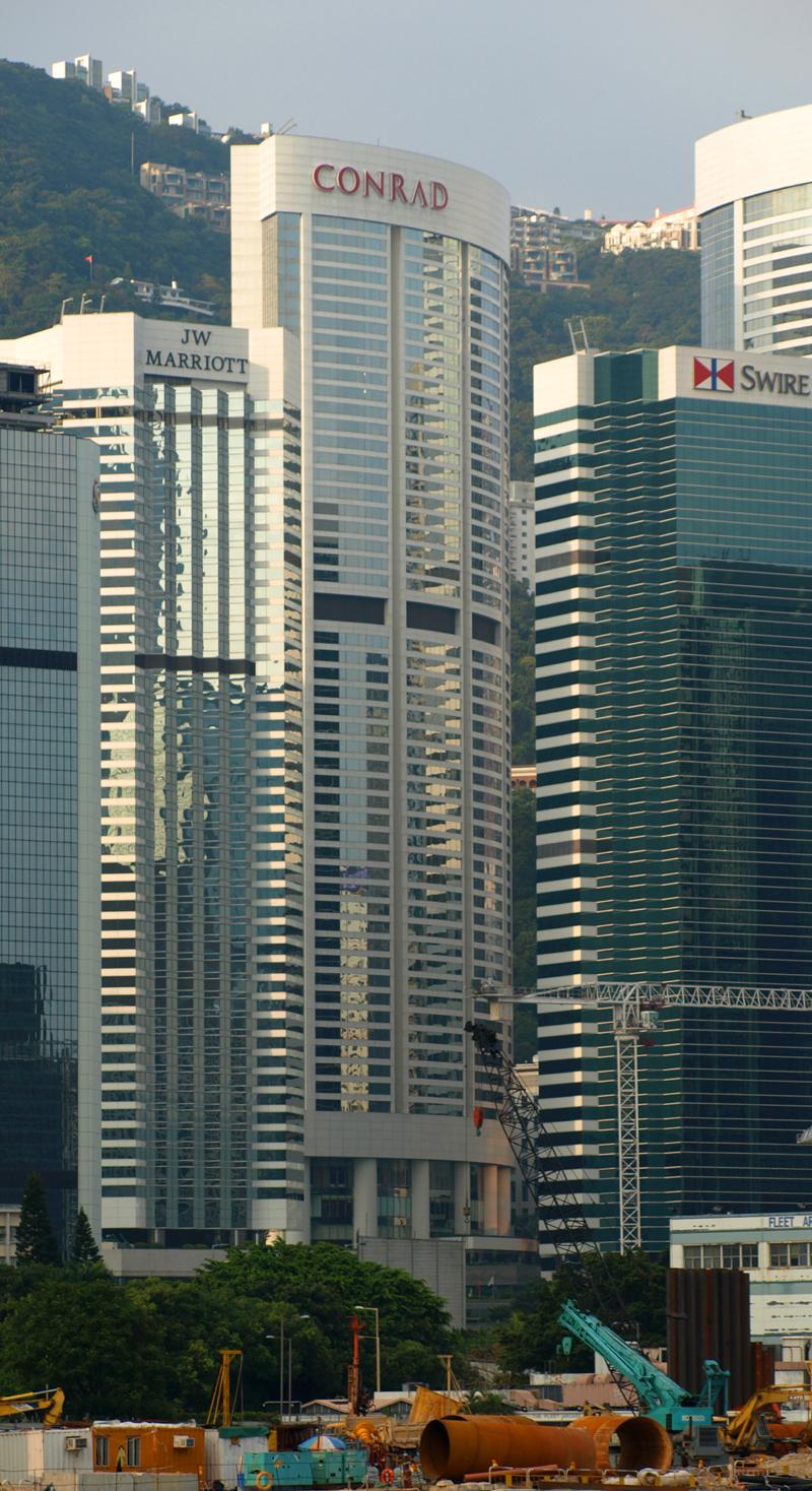 Conrad Hong Kong - The Skyscraper Center