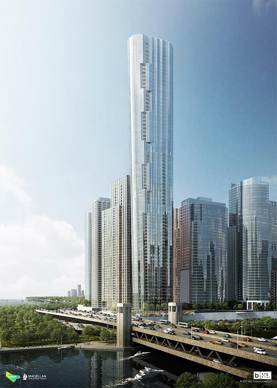 Lakeshore East I Tower  The Skyscraper Center