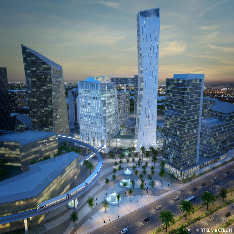 King Abdullah Financial District Tower 409 The