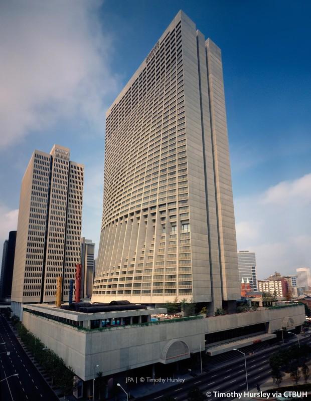 Marriott Marquis Hotel - The Skyscraper Center