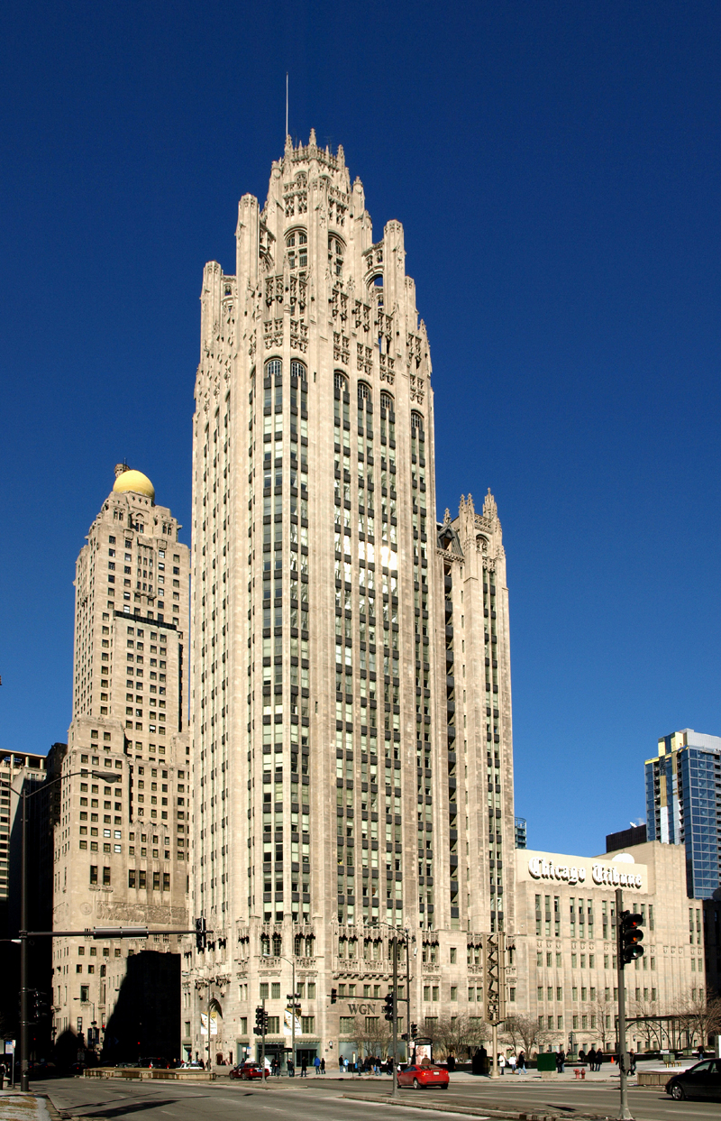 Image result for tribune tower condos