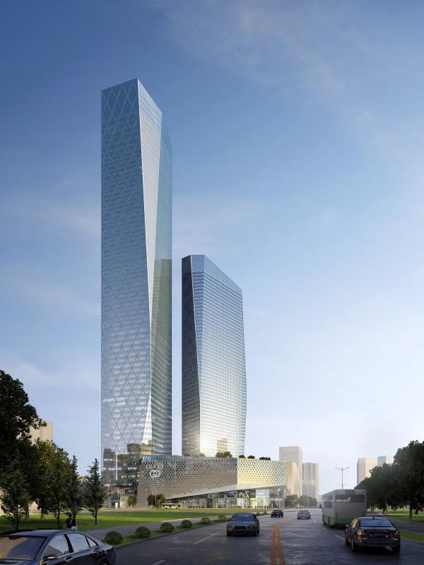 Suning Plaza Tower 1  The Skyscraper Center