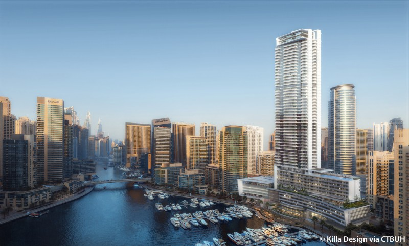 Vida Hotel And Residences Dubai Marina Yacht Club The