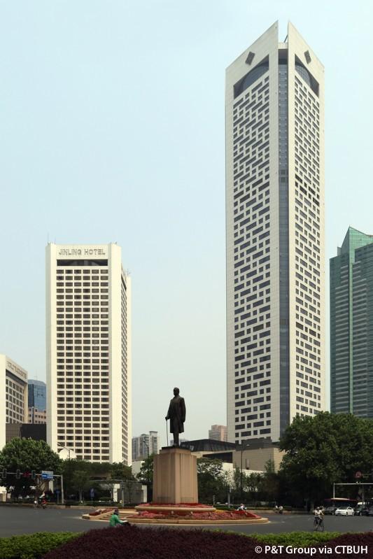 Nanjing Jingling Hotel Complex - The Skyscraper Center