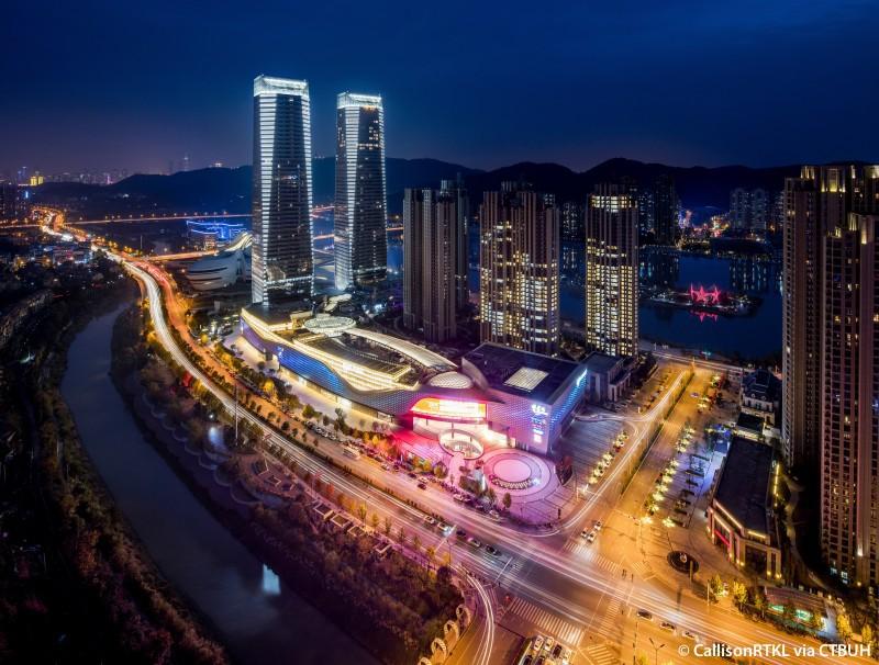 Changsha Jinmao Meixi Lake International Plaza Complex - The Skyscraper Center