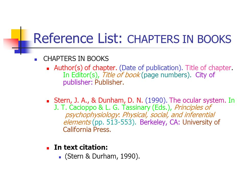 Q. How do I refer to a book by title in-text in APA format?