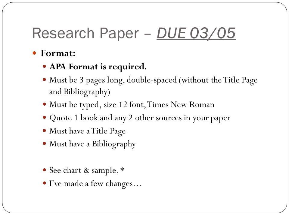 Mrs Villanueva Science Science Fair Assignments Ppt Download
