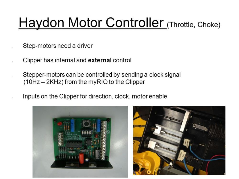 medium resolution of 5 haydon motor controller throttle choke step motors need a driver clipper has internal and external control stepper motors can be controlled by sending