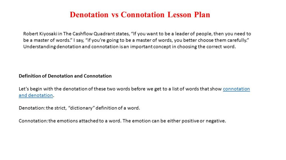 medium resolution of Denotation And Connotation Worksheet Answers - Nidecmege