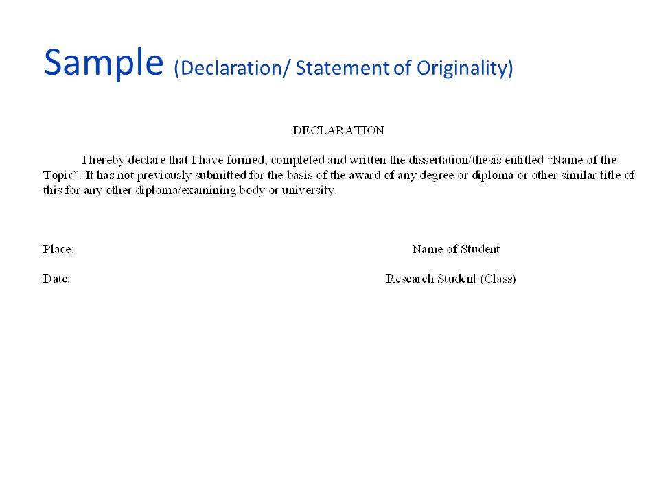 examples of how to write a statutory declaration