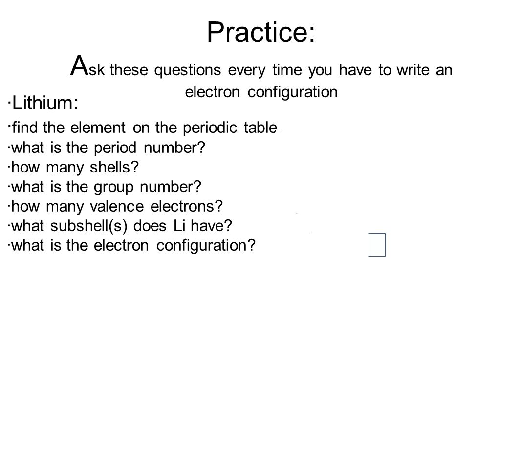 hight resolution of practice a sk these questions every time you have to write an electron configuration