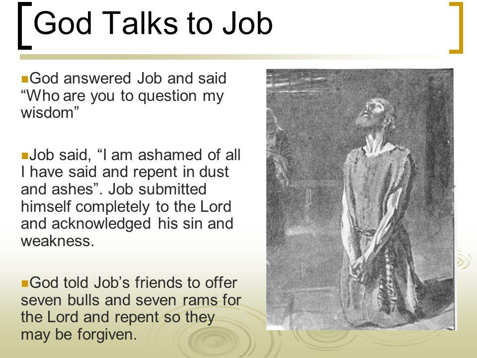 Image result for god talks to job