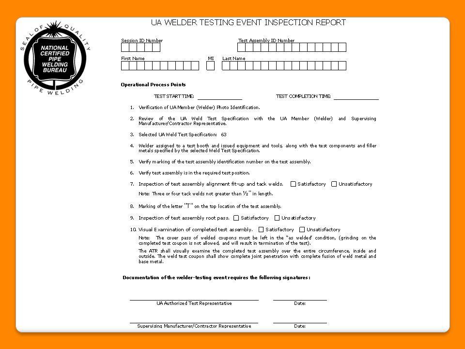 policy procedure ncpwb welder