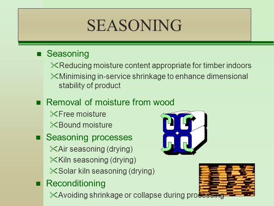 Green Wood Moisture Content