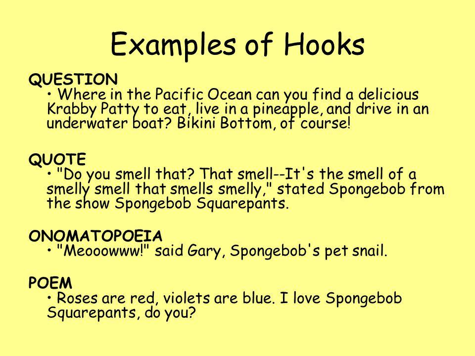 Good Hook For Essay Good Hook In Essay Paraphrasing College Paper