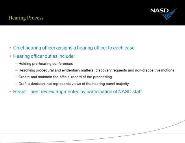NASD: SRO Enforcement and Corporate Governance Latin American