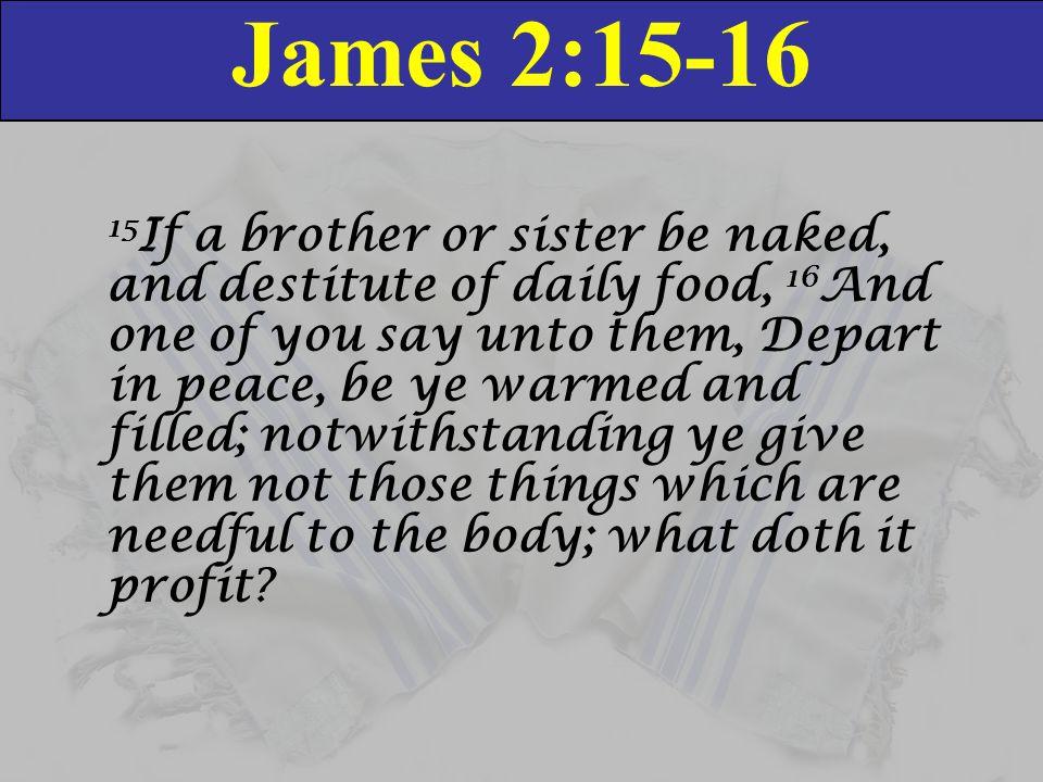 Image result for james 2:15-16