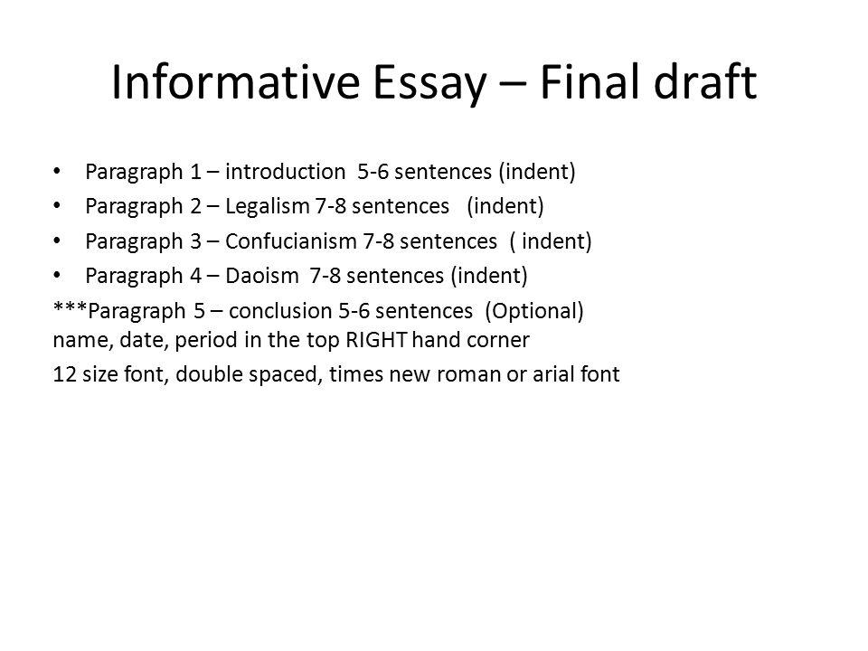 An Informative Essay Informational Essay Co Informative Essay