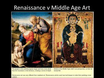 Renaissance vs Medieval Art