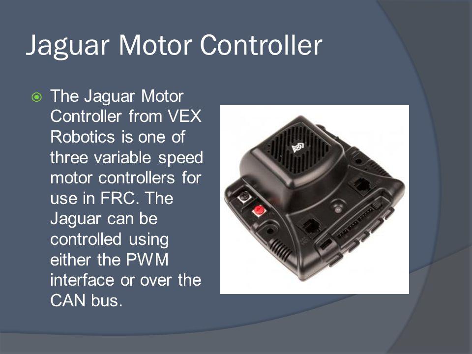 Jaguar Motor Controller Can Bus