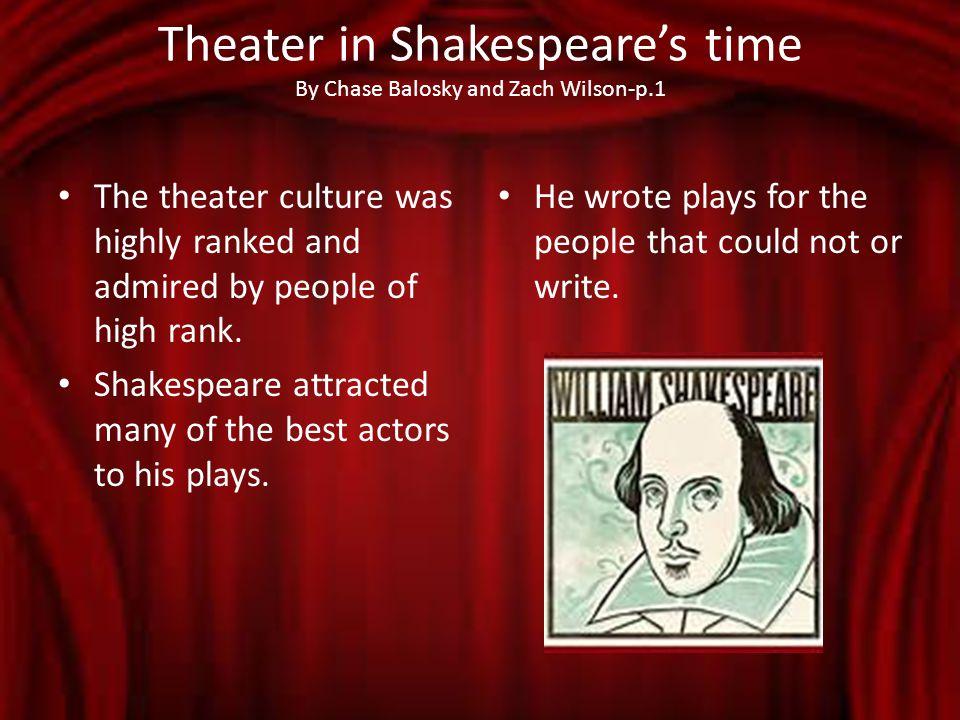 shakespeare s background little