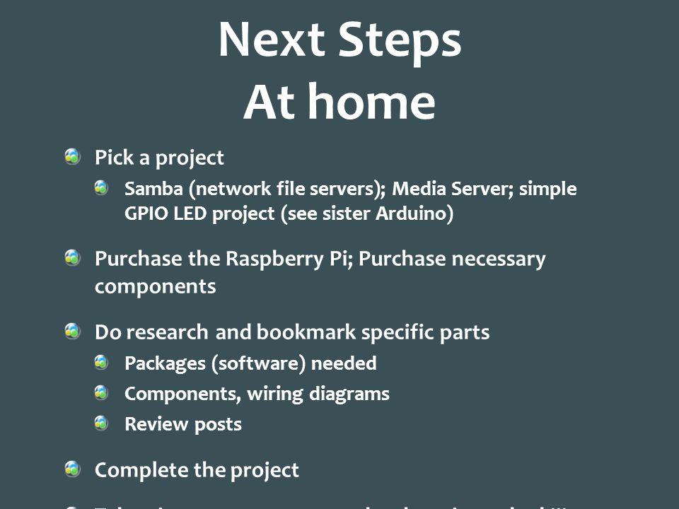 home media server wiring diagram isuzu npr 400 introduction to the raspberry pi saman amighi 10 2013 14 next steps at
